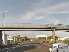Footbridge, M8 Motorway, Hillington